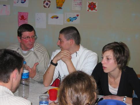 Barbecue 2006. Grande discussion !