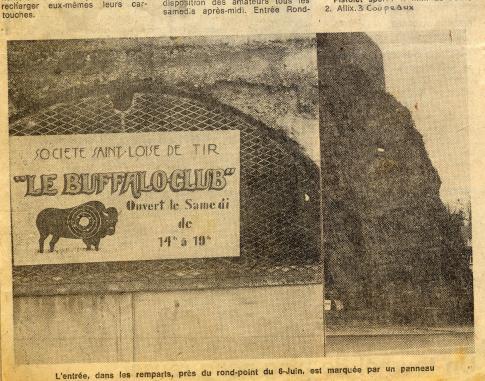 Entrée du stand en 1977